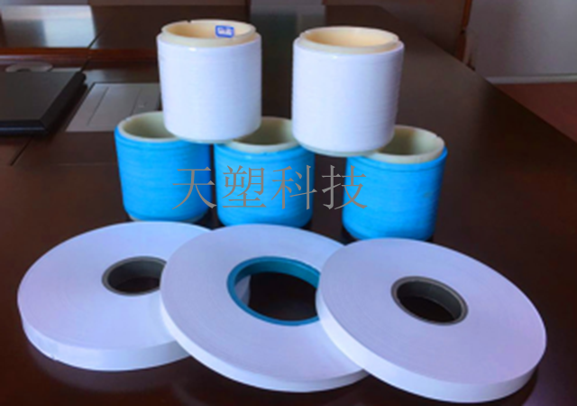 Unsintered PTFE expanded tape